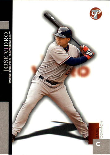 Photo of 2005 Topps Pristine #53 Jose Vidro