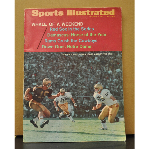 Photo of 1967 Sports Illustrated // Purdue Beats No. 1 Notre Dame