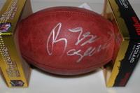 BILLS - REGGIE RAGLAND SIGNED AUTHENTIC FOOTBALL