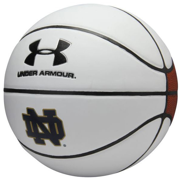 Photo of Under Armour Basketball Autographed by the 2017-2018 Notre Dame Women's Basketball Team