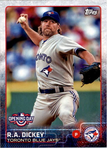 Photo of 2015 Topps Opening Day #108 R.A. Dickey