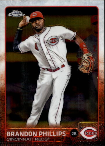 Photo of 2015 Topps Chrome #6 Brandon Phillips