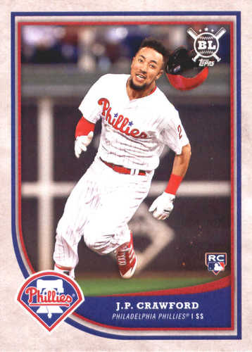 Photo of 2018 Topps Big League #3 J.P. Crawford RC
