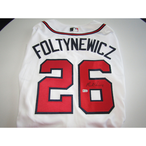 Photo of Mike Foltynewicz Autographed Jersey