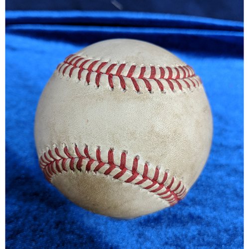 Photo of Albert Pujols 605th Career Double, 12th Place Career Doubles: Game-Used