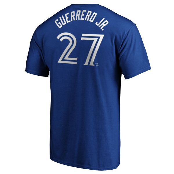 Toronto Blue Jays Vladimir Guerrero Jr. Player T-Shirt by Majestic