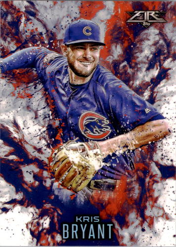 Photo of 2016 Topps Update Fire #F9 Kris Bryant