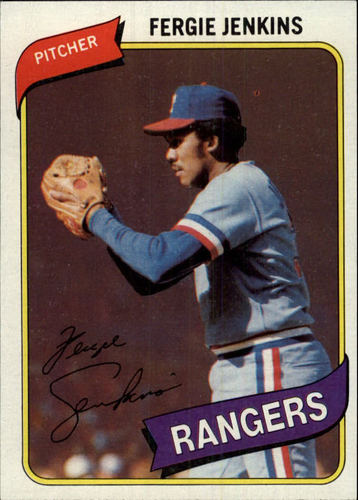 Photo of 1980 Topps #390 Fergie Jenkins