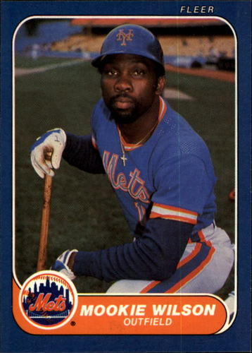 Photo of 1986 Fleer #97 Mookie Wilson