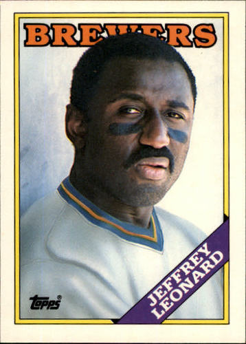 Photo of 1988 Topps Traded #61T Jeffrey Leonard