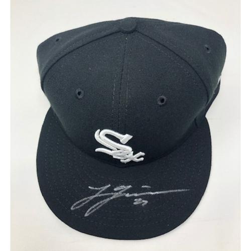 Lucas Giolito Autographed Cap