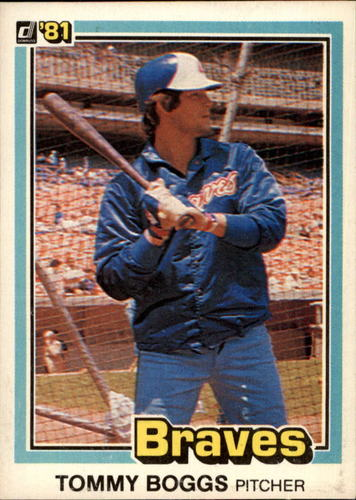 Photo of 1981 Donruss #597 Tommy Boggs