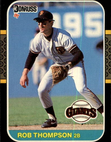 Photo of 1987 Donruss #145 Robby Thompson RC *