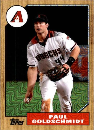 Photo of 2017 Topps '87 Topps Silver Pack Chrome #87PG Paul Goldschmidt