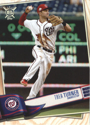 Photo of 2019 Topps Big League #134 Trea Turner