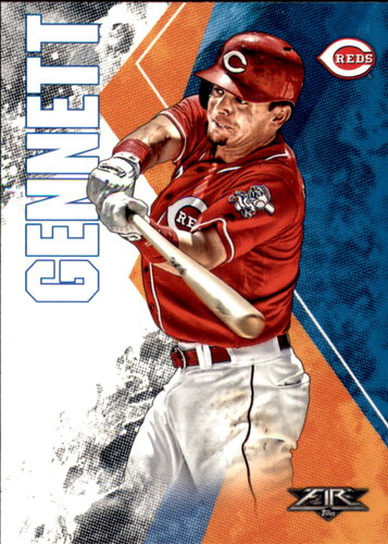 Photo of 2019 Topps Fire #162 Scooter Gennett