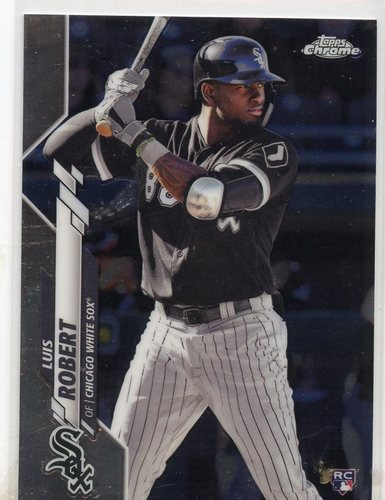 Photo of 2020 Topps Chrome #60 Luis Robert RC