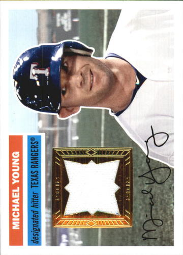 Photo of 2012 Topps Archives Relics #MY Michael Young