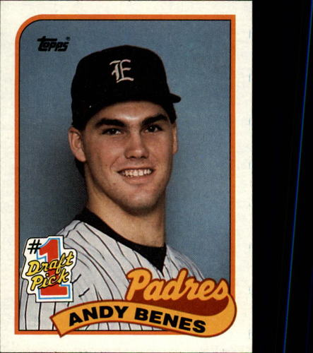Photo of 1989 Topps #437 Andy Benes FDP RC