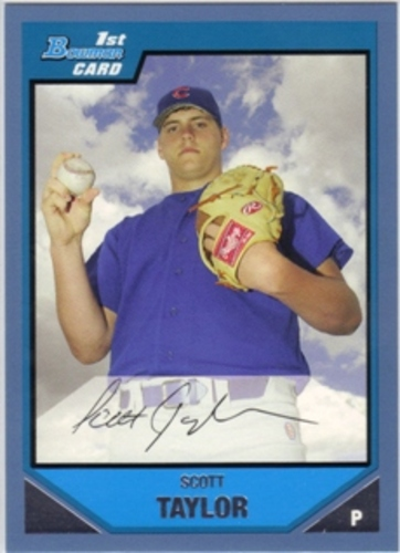 Photo of 2007 Bowman Prospects Blue #BP14 Scott Taylor