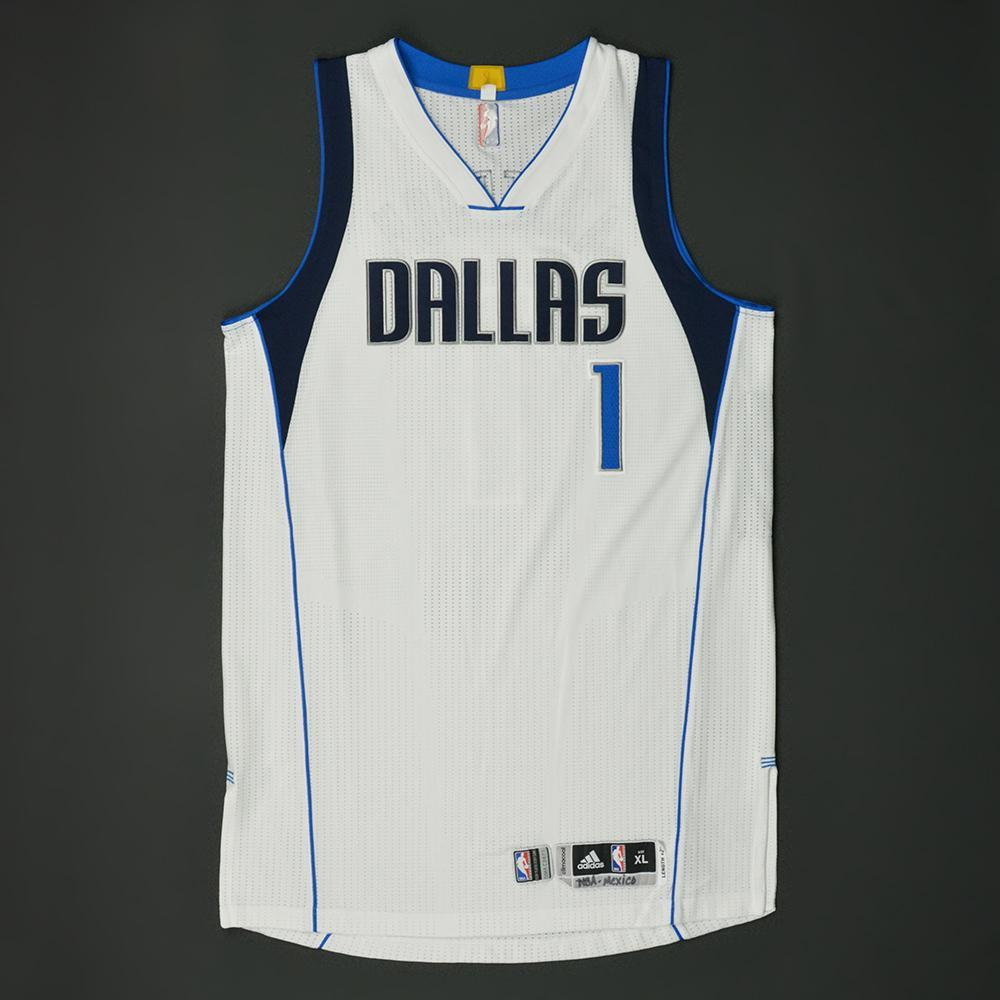 Justin Anderson - Dallas Mavericks - NBA Global Games 2017 Mexico City - Game-Worn Jersey