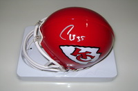 CHIEFS - CHARCANDRICK WEST SIGNED CHIEFS MINI HELMET