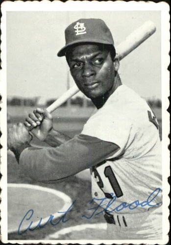 Photo of 1969 Topps Deckle Edge #28 Curt Flood
