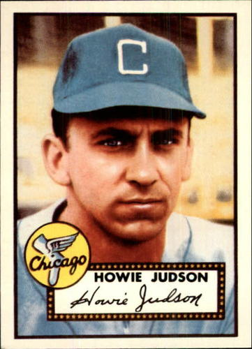 Photo of 1983 Topps 1952 Reprint #169 Howie Judson