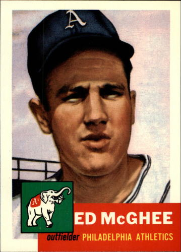 Photo of 1991 Topps Archives 1953 #195 Ed McGhee
