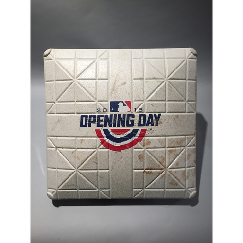 Photo of 2018 San Diego Padres Opening Day Base -3rd Base