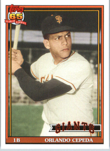 Photo of 2016 Topps Archives #210 Orlando Cepeda