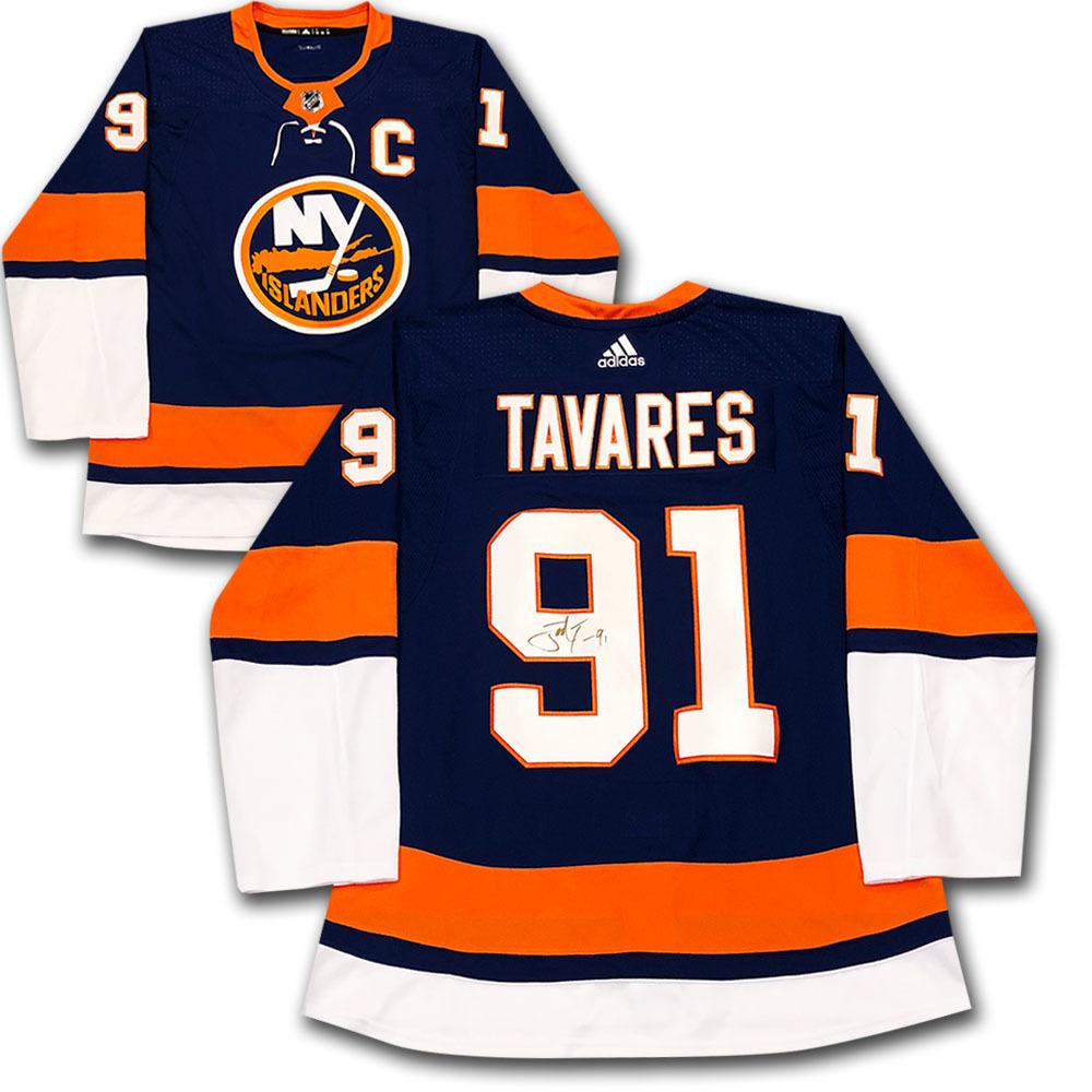 John Tavares Autographed New York Islanders adidas Pro Jersey