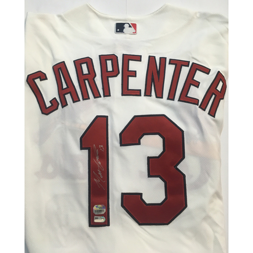 Photo of Matt Carpenter Autographed Authentic Cardinals Jersey