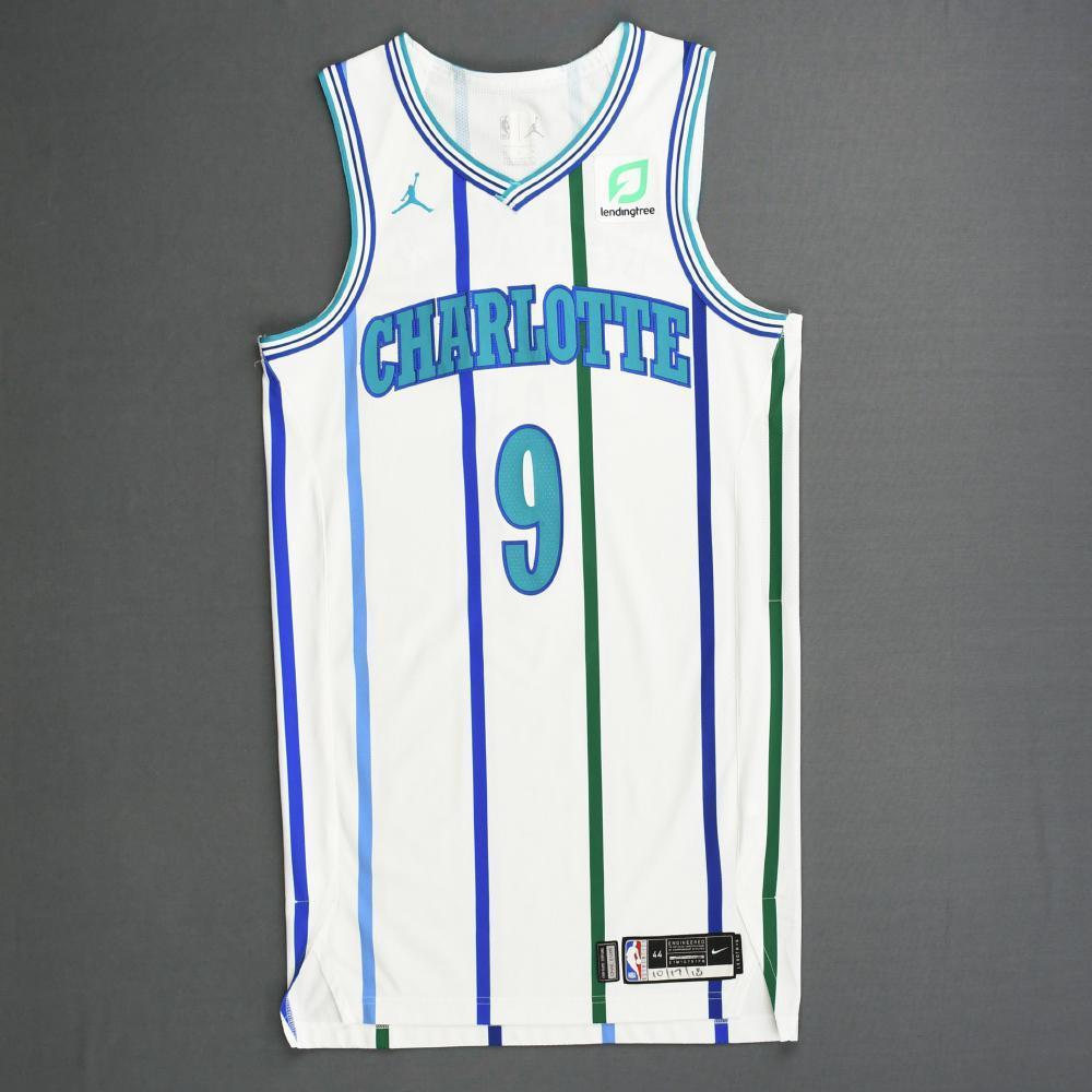 Charlotte Hornets #9 Tony Parker Statement Purple Swingman Jersey