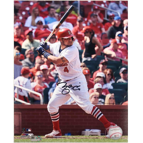 Photo of Cardinals Authentics: St. Louis Cardinals Yadier Molina Batting Autographed Photo