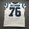 London Games - Panthers Bryan Witzmann Game Used Jersey (10/13/2019) Size 48 With 25 Seasons Patch