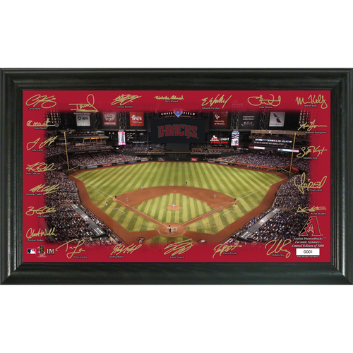 Photo of Arizona Diamondbacks 2020 Signature Field Limited Edition Frame
