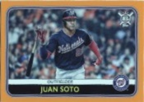 Photo of 2020 Topps Big League Orange #111 Juan Soto