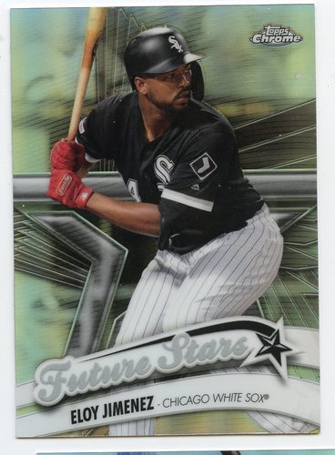 Photo of 2020 Topps Chrome Future Stars #FS3 Eloy Jimenez