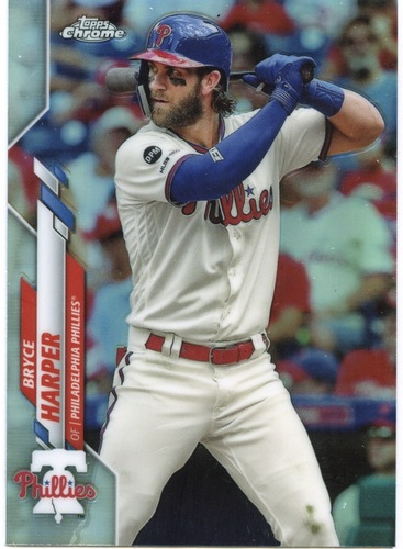 Photo of 2020 Topps Chrome Refractors #97 Bryce Harper