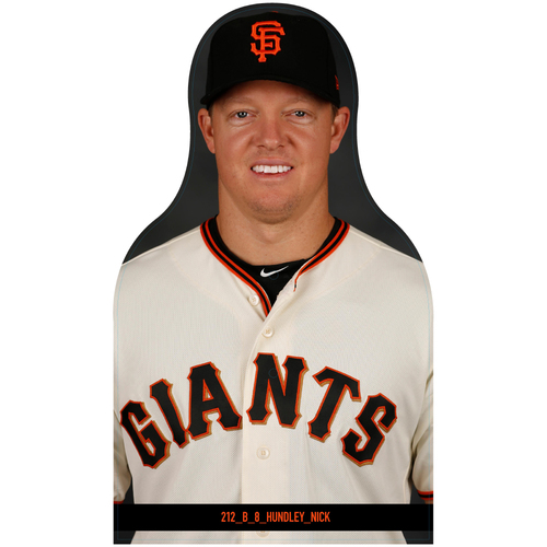 Photo of Giants Community Fund: Giants Nick Hundley Cutout