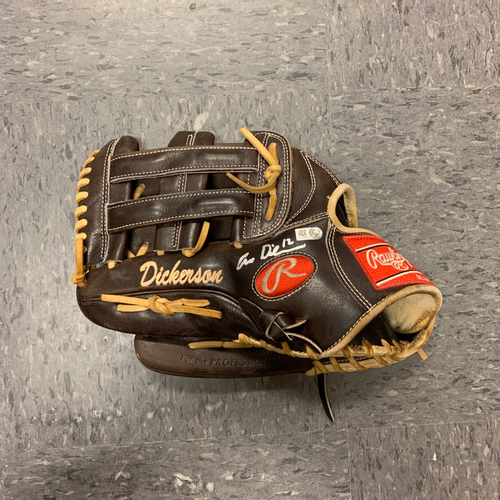 Photo of 2020 Team Issued and Autographed FIELDING GLOVE - signed by #12 Alex Dickerson