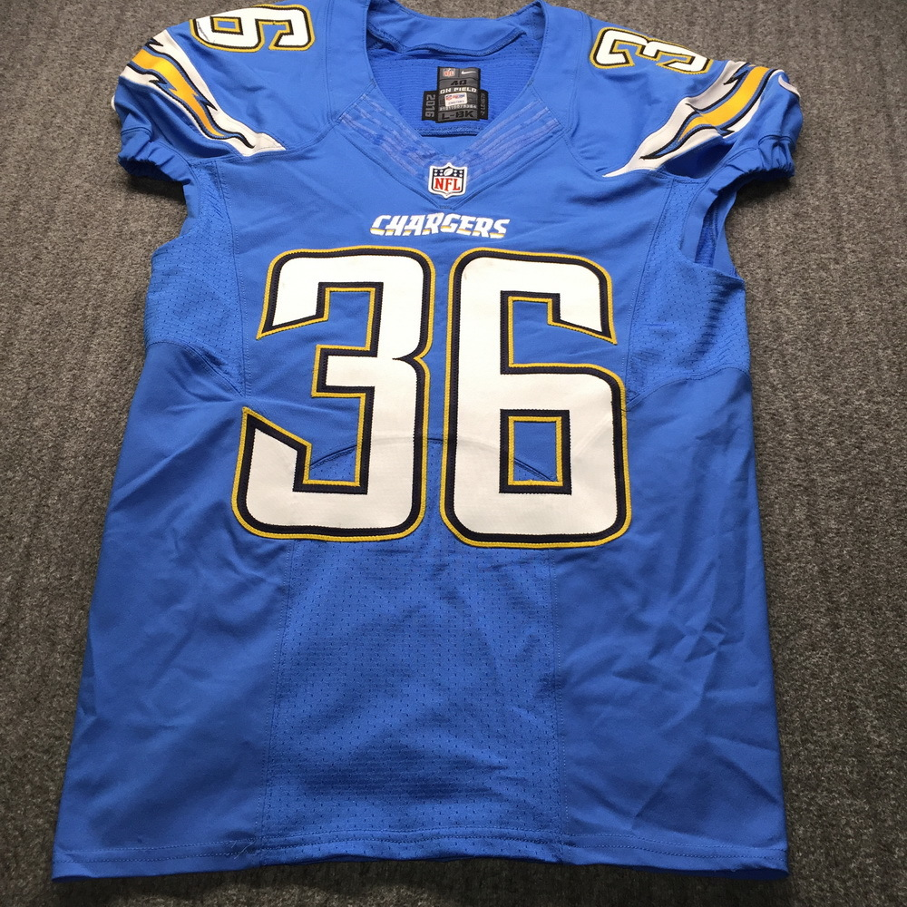 NFL Auction | Chargers - Ronnie Hillman Game Used Jersey Size 40