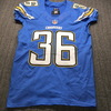 Chargers - Ronnie Hillman Game Used Jersey Size 40