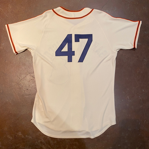 Photo of 2021 Team Issued San Francisco Sea Lions Negro League Throwback Uniform - #47 Johnny Cueto - Size 46