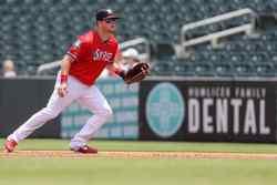 Photo of Caleb Hamilton/Jimmy Kerrigan 2021 Game-Worn Jersey(Red)