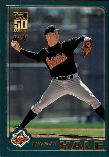Photo of 2001 Topps Traded #T255 Beau Hale RC
