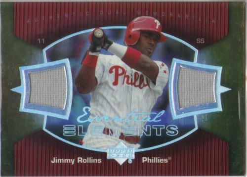 Photo of 2007 Upper Deck Elements Essential Elements #JR Jimmy Rollins