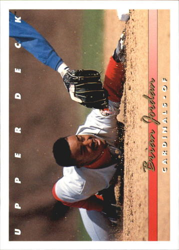 Photo of 1993 Upper Deck Gold Hologram #596 Brian Jordan