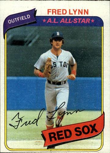 Photo of 1980 Topps #110 Fred Lynn DP
